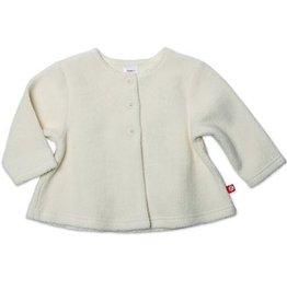 Zutano Cream Cozie Fleece Swing Jacket