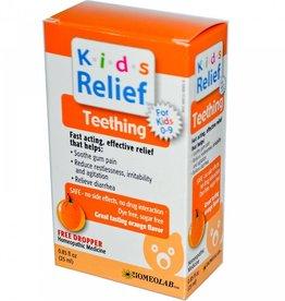 Kids Relief Homeopathic Teething Liquid Orange
