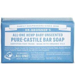 Dr. Bronner's Pure Unscented Baby-Mild Castille Soap Solid 5 oz