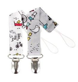 Bumkins Bumkins Water Proof Pacifier Clip 2-pack