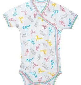Under The Nile Short Sleeve Bodysuit Baby Birds