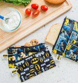 Bumkins DC Comics Snack Bags 2-Pack