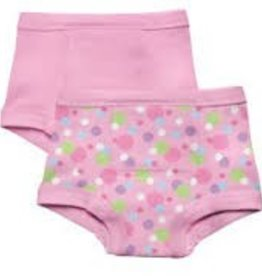 Green Sprouts Training Pants  Pink Dot