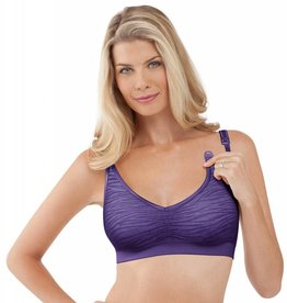 Bravado Bravado Body Silk Seamless Nursing Bra #1402 Jungle Berry S