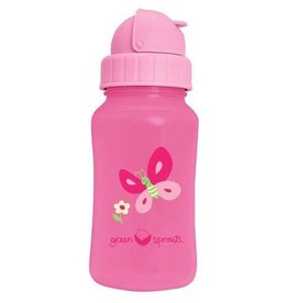 Green Sprout Straw Sippy Pink