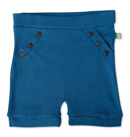Finn + Emma Snap Shorts Delft 12-18 Mos