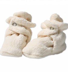 Zutano Cozie Fleece Booties Cream