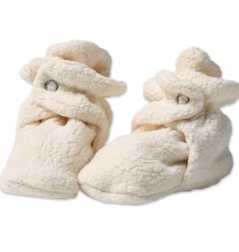 Zutano Fleece Booties Cream