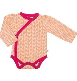 Finn + Emma Long Sleeve Bodysuit Hipster Triangles