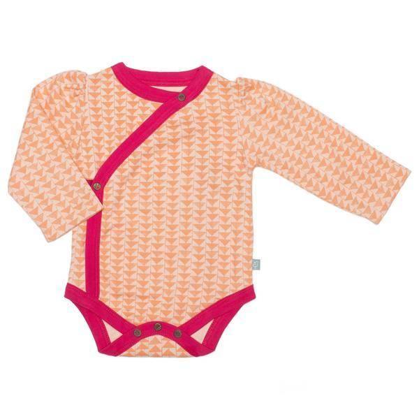 Finn + Emma Long Sleeve Bodysuit Hipster Triangles