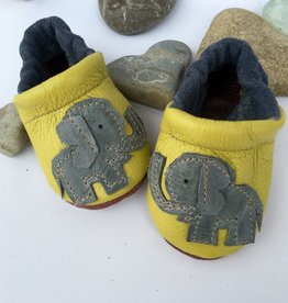 Starry Knight Design Applique Shoes Elephants