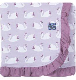 Kickee Pants Kickee Pants Ruffle Stroller Blanket (Prints)
