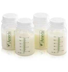 Ameda Milk Storage Bottles 4oz