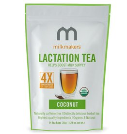 MilkMakers Lactation Tea - Coconut Flavor