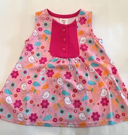 Zutano Darling Dress Friendly Bird 4T