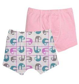 Grovia Grovia Unders Underwear Pastel Sloths 2T