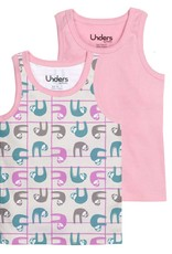 GroVia Unders Tank Tops Pastel Sloths 3T