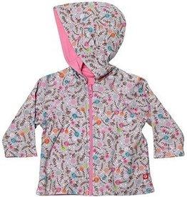 Zutano Pixie Reversible Zip Hoodie