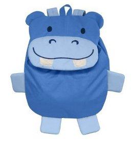 i play Reusable On Safari Lunch Bag Blue Hippo
