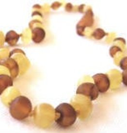 Inspired By Finn Inspired By Finn Baltic Amber Necklaces  Unpolished Mixture