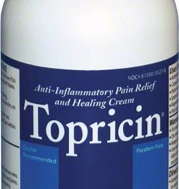 Topricin Topricin Pain Relief and Healing Cream Bottle 8 oz
