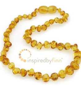 """Inspired By Finn Inspired By Finn Baltic Amber Necklaces 10.5"""""""