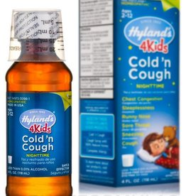Hyland's Nighttime Cold 'n Cough  4 Kids Syrup