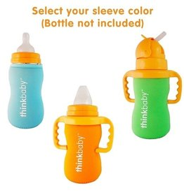 Thinkbaby Neoprene Thermal Bottle Sleeve- Orange