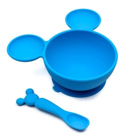 Bumkins Disney Silicone First Feeding Set
