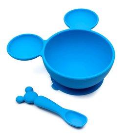 Bumkins Disney Silicone First Feeding Set