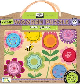 Wooden Puzzle Circle Garden Innovative Kids