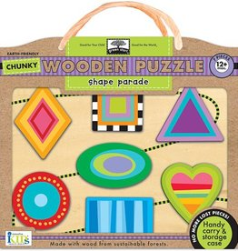Wooden Puzzle Shape Parade Innovative Kids