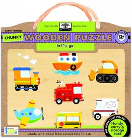 Chunky Wooden Puzzle Lets Go Innovative Kids
