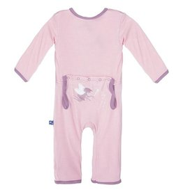 Kickee Pants Applique Coverall Lotus Baby Fairy 0-3 Months