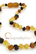 """Inspired By Finn Baltic Amber Necklace 11.5"""""""
