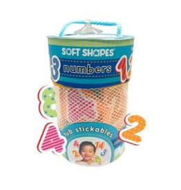 Innovative Kids Soft Shapes Tub Stickables Numbers