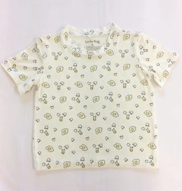 Lucky Bug Sunny Side Up Tshirt 2T