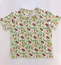 Lucky Bug Veggie Garden Tshirt 3T