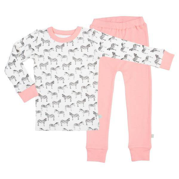Finn + Emma Long Sleeve Pajamas Zebra
