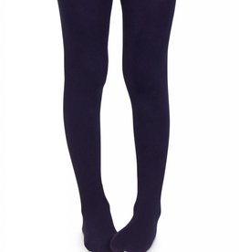 Jefferies Pima Cotton Tights Dusky Plum
