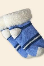 Organic Merino Wool Socks Blue Infant