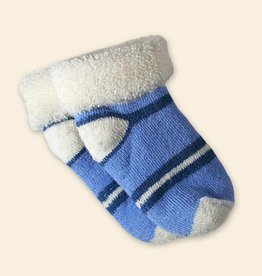 Maggie's Organic Merino Wool Socks Blue Infant