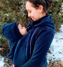 Tasku Babi Whole Mama Fleece- Navy
