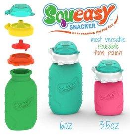 Reusable 6 oz Food Pouch