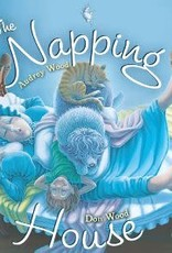 Houghton Mifflin Harcourt The Napping House by Audrey Wood and Don Wood Hardcover w/audioBook
