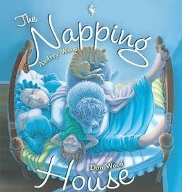 The Napping House by Audrey Wood and Don Wood Hardcover w/audioBook