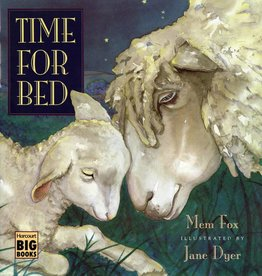 Houghton Mifflin Harcourt Time for Bed Big Book by Mem Fox