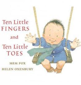Houghton Mifflin Harcourt Ten Little Fingers and Ten Little Toes by Mem Fox and Helen Oxenbury Lap Board Book