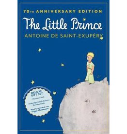 Houghton Mifflin Harcourt The Little Prince by Antoine De Saint-Exupery 70th Anniversary Deluxe Gift Set