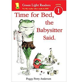 "Houghton Mifflin Harcourt ""Time For Bed,"" The Babysitter Said by Peggy Perry Anderson Softcover"